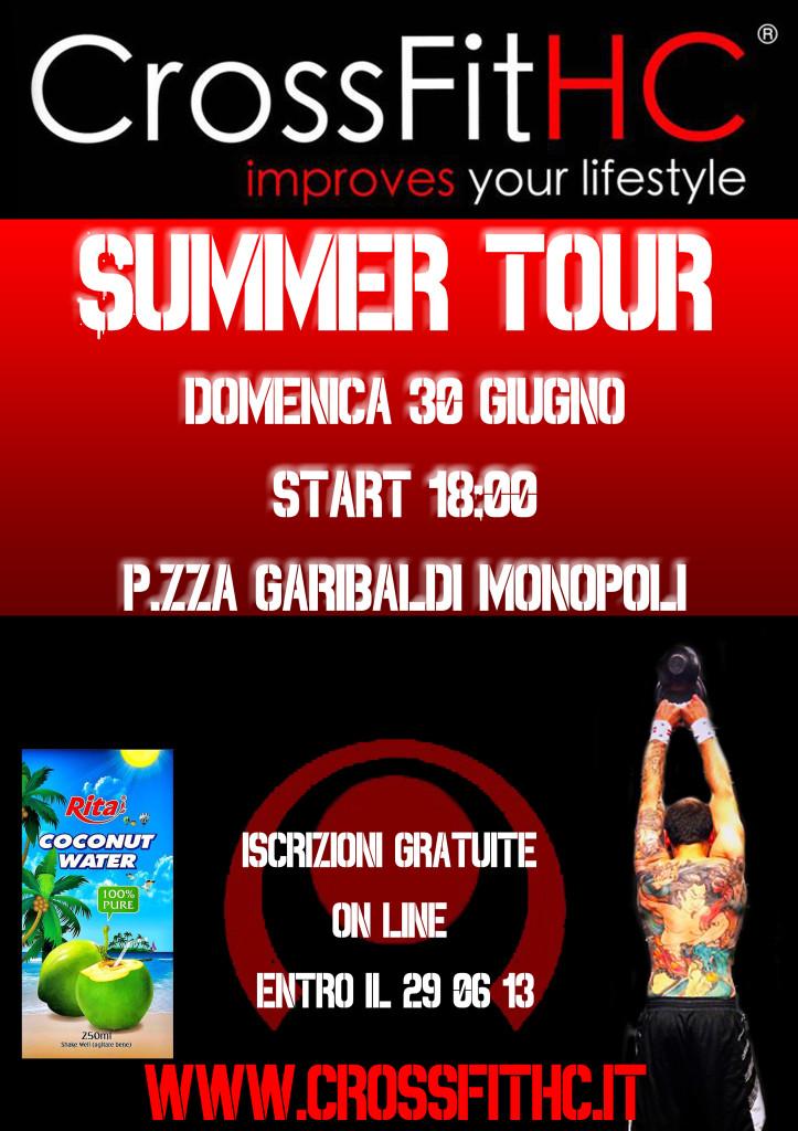 locandina CFHC summer tour
