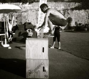 box jump 100