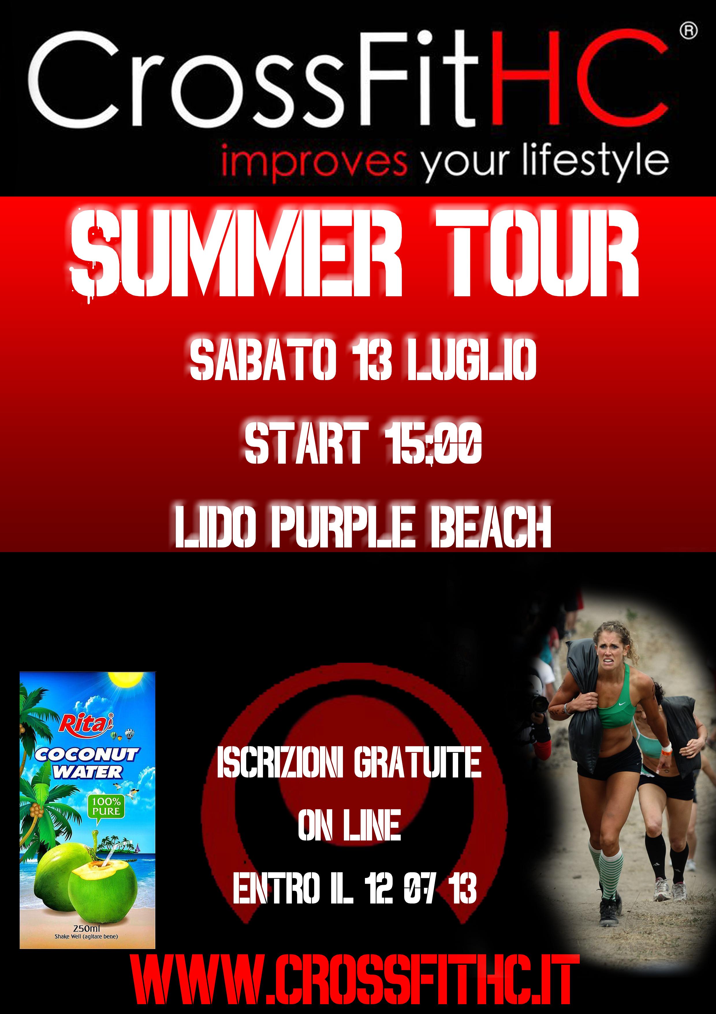 locandina CFHC summer tour 2 tour