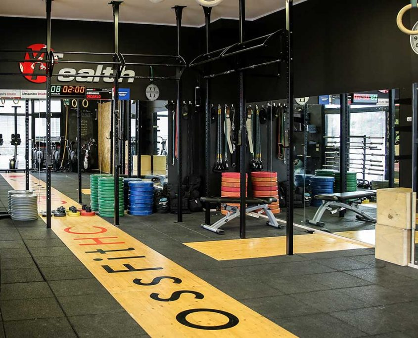 Sala CrossFit - CrossFit HC